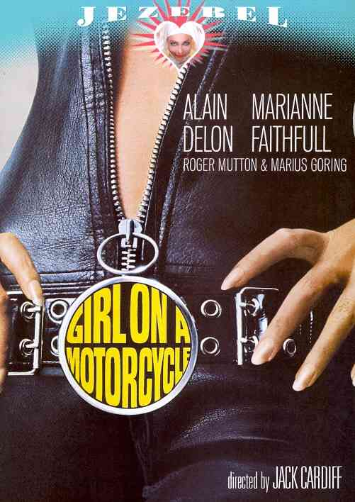 GIRL ON A MOTORCYCLE BY FAITHFULL,MARIANNE (DVD)